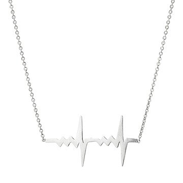 Amour Double Heartbeat Necklace