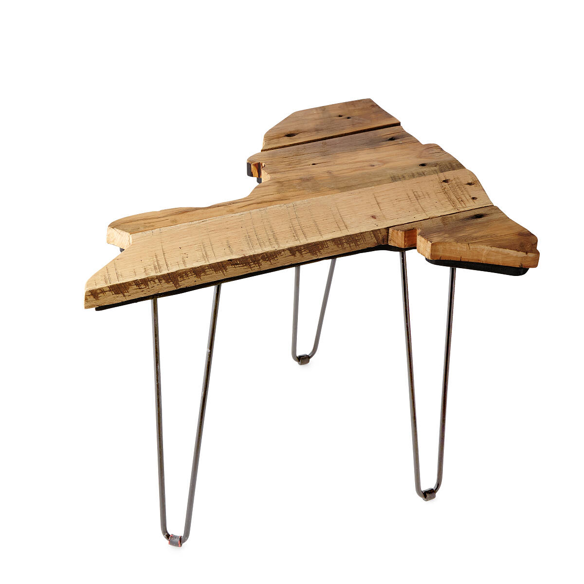 barnwood state side tables reclaimed wood table uncommongoods