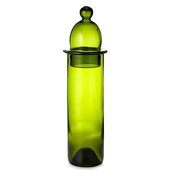 Recycled Wine Bottle Carafe