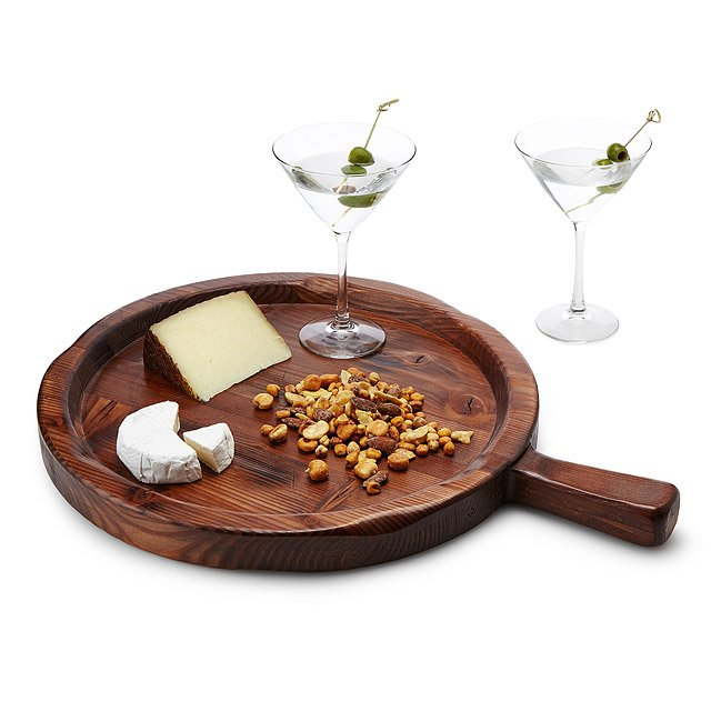 Reclaimed Wood Spanish Olive Tray