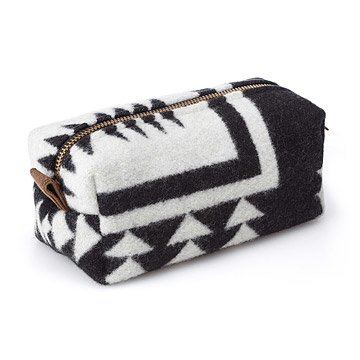 Small Tribal Blanket Cosmetic Bag