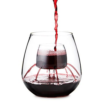 Stemless Aerating Wine Glasses - Set of 2