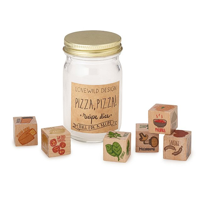 Pizza Topping Dice