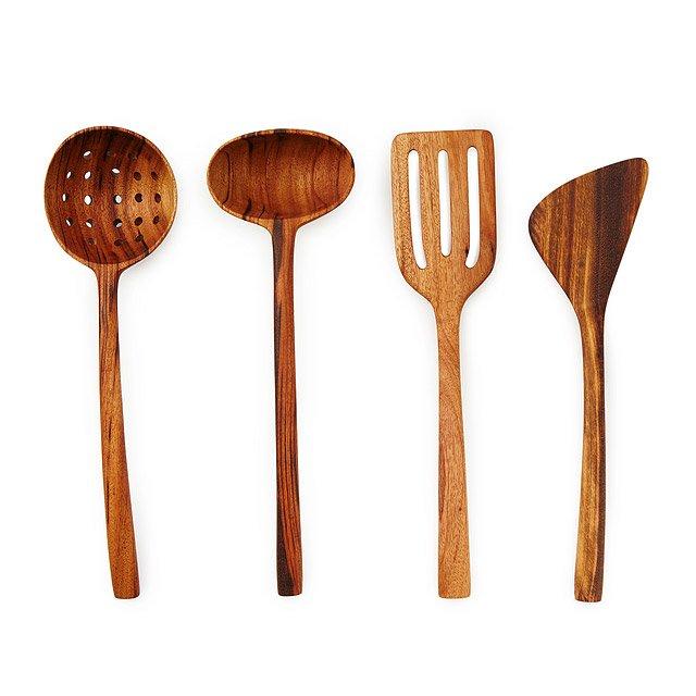 Ordinaire Wooden Kitchen Utensils