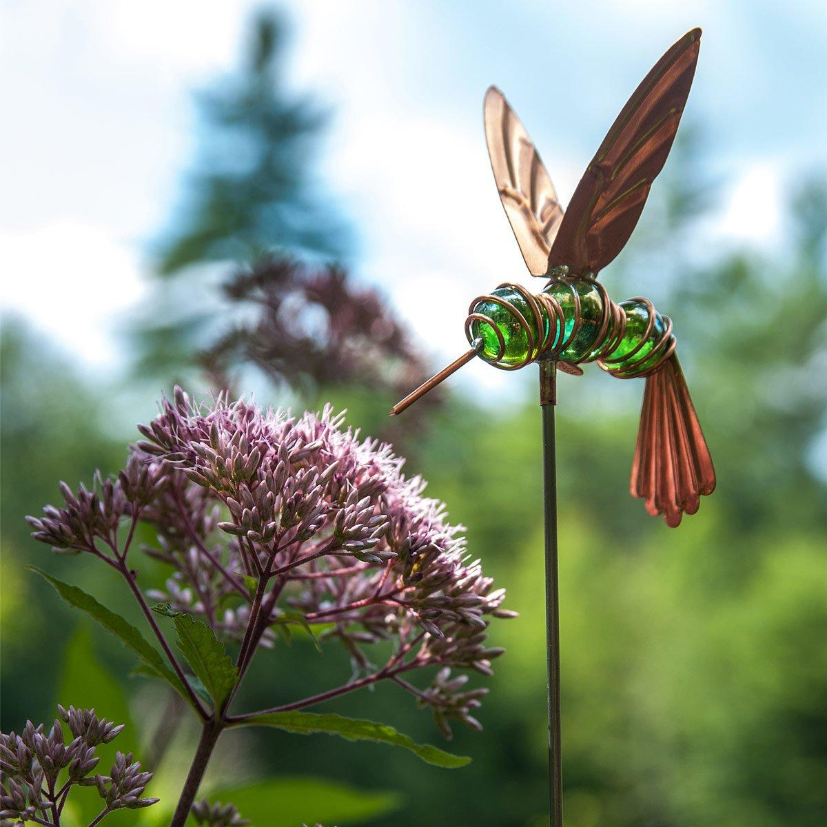 Humphrey the Hovering Hummingbird Stake | handmade garden decoration ...