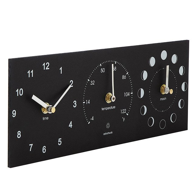 Eco Thermometer Clock