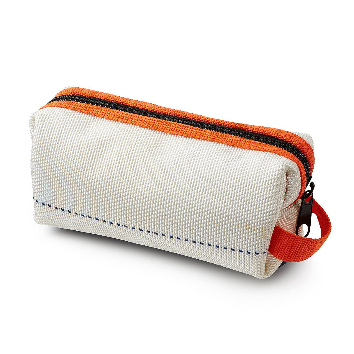 Recycled bunker gear bags - Upcycled Firehose Toiletry Bag 1 Thumbnail
