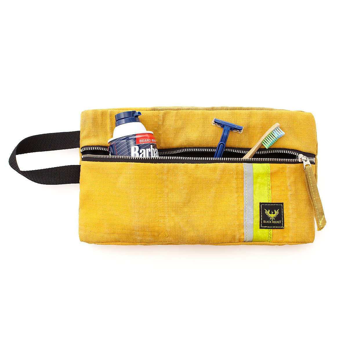 Recycled bunker gear bags - Fire Gear Dopp Bag 2 Thumbnail