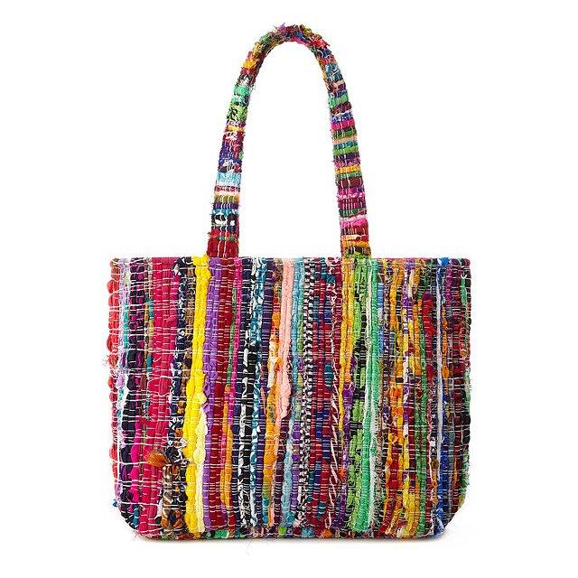 edb75deb75c0 Upcycled Sari Bag