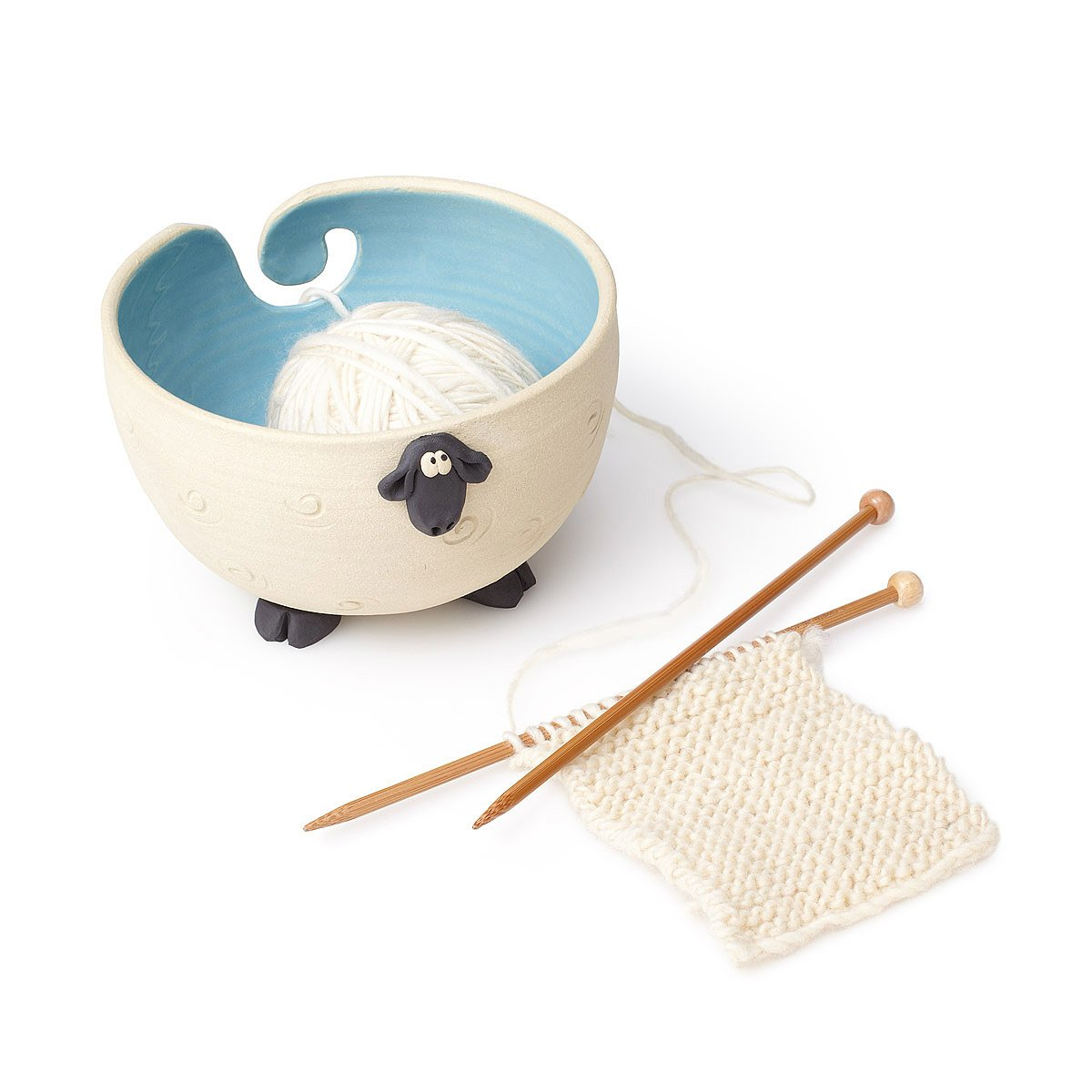 Knitting Accessories : ... Sheep Yarn Bowl knitting accessories, yarn keeper UncommonGoods
