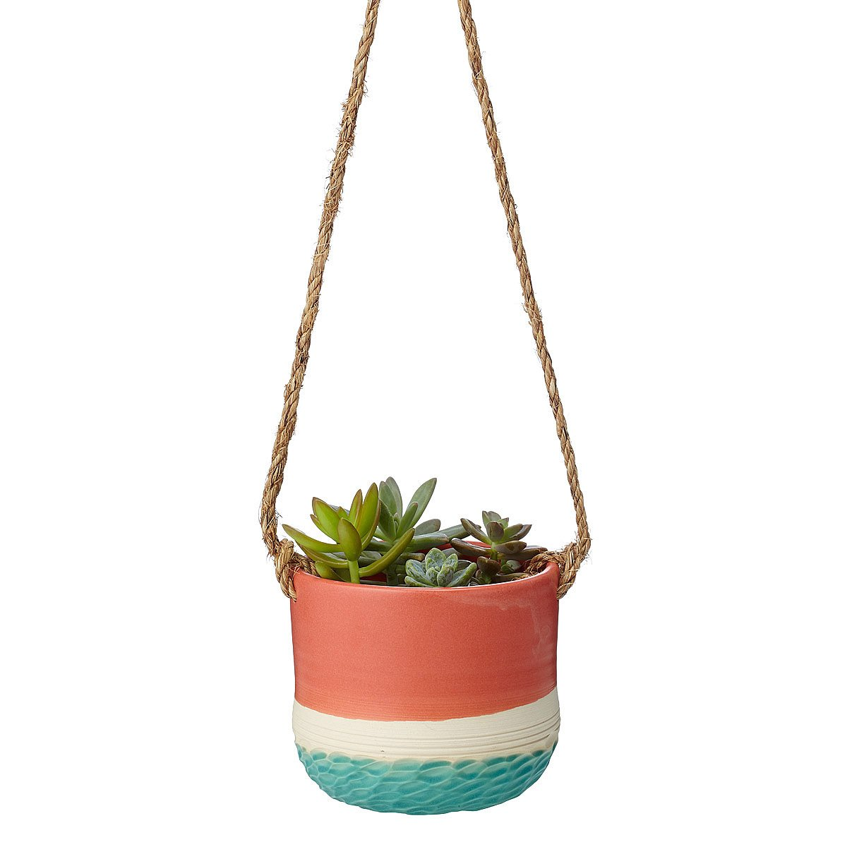 Hanging Planter Coral Carved Hanging Planter Handmade Planter Uncommongoods