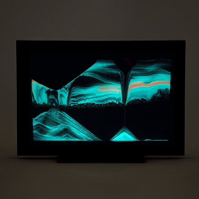 Glow-in-the-Dark Sand Window