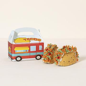 Baby taco booties