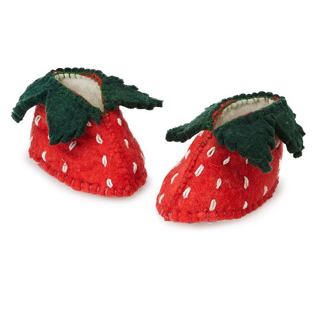 Strawberry Shortcake Booties