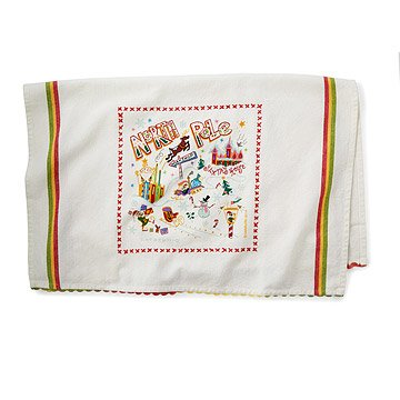 North Pole Dish Towel