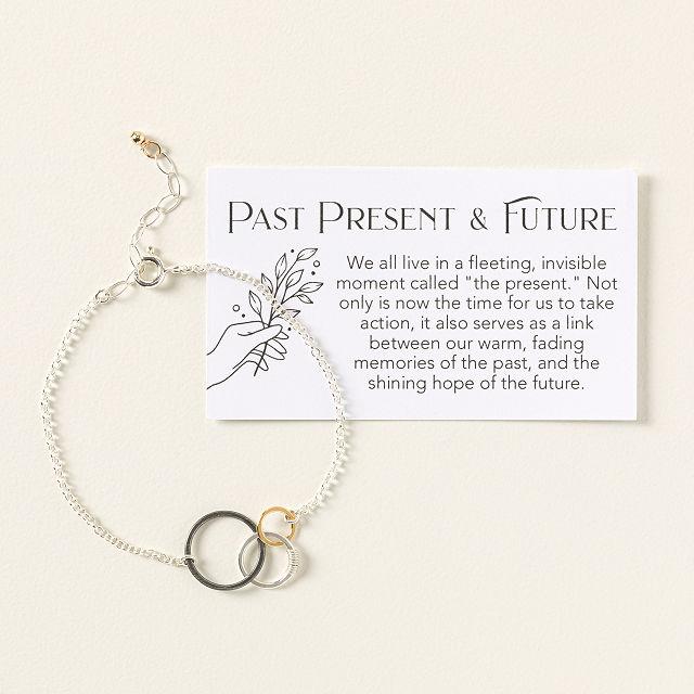 6360dacfa6f Past Present Future Bracelet | inspirational jewelry for women ...