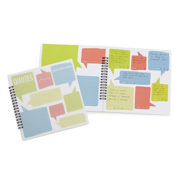 Kid Quotes Memory Book