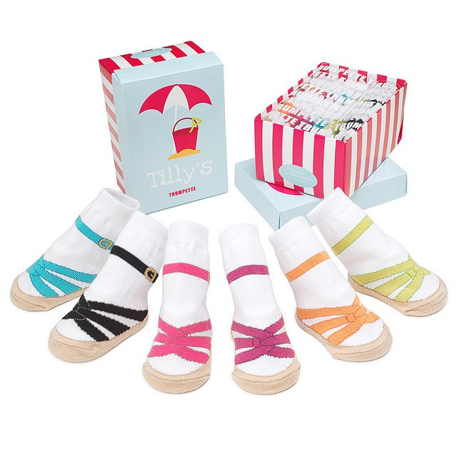 Tilly's Sandal Socks - Set of Six