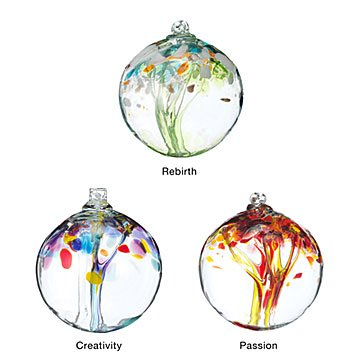 Recycled Glass Tree Globes - Renewal