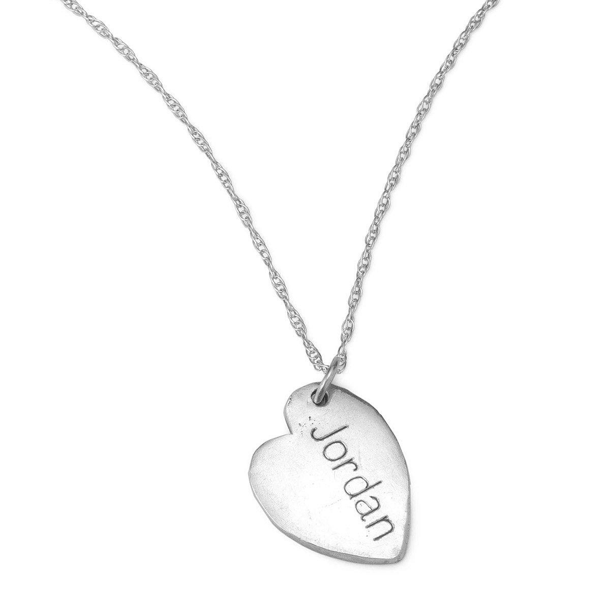 Custom fingerprint necklace personalized gift silver jewelry custom fingerprint necklace 2 thumbnail solutioingenieria Gallery