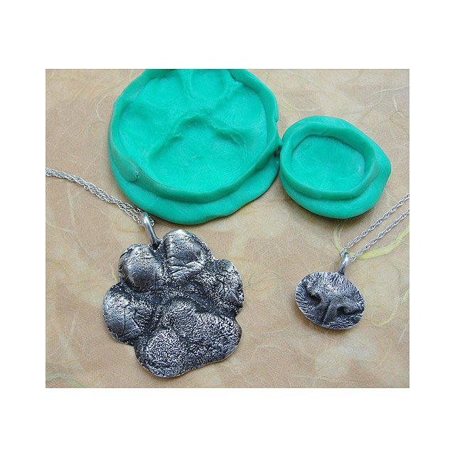 Custom Pet Paw Print Necklace   Don't index this page
