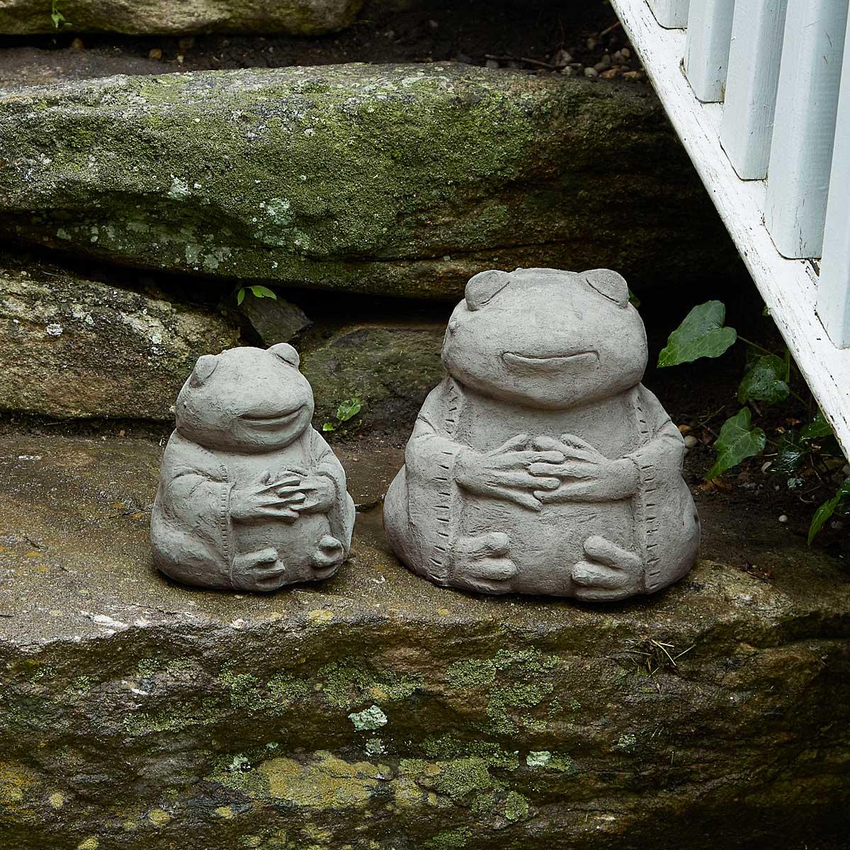 Zen Frog Garden Sculpture 1 Thumbnail