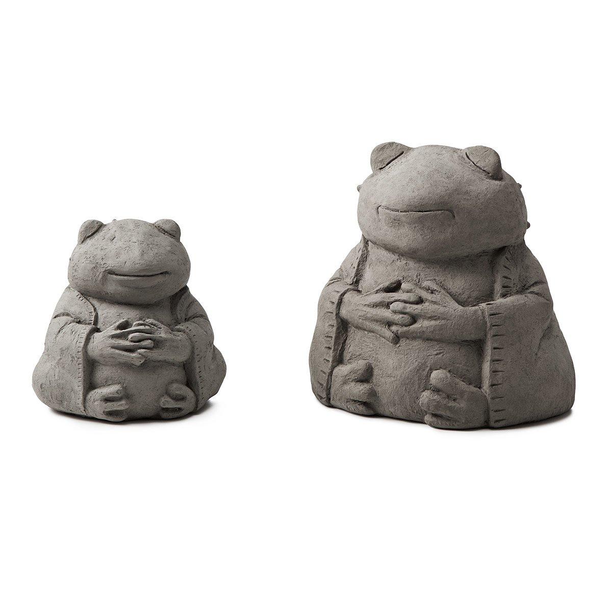 Zen Frog Garden Sculpture 2 Thumbnail