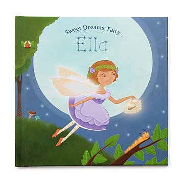 customizable little girls personalized garden fairy book