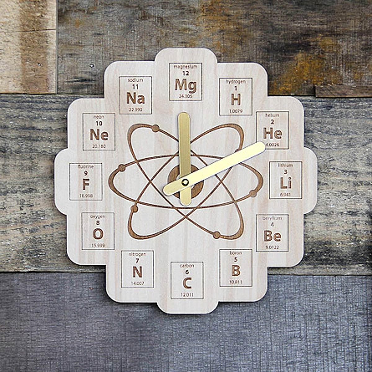 Periodic table clock science clock uncommongoods periodic table clock 2 thumbnail gamestrikefo Gallery