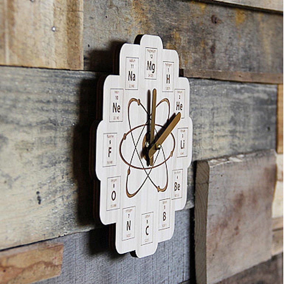 Periodic table clock science clock uncommongoods periodic table clock 3 thumbnail gamestrikefo Gallery