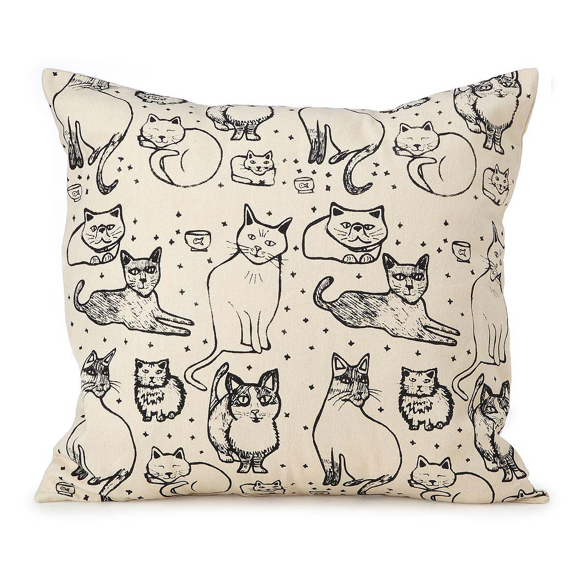 illustrated cat u0026 dog pillows 2 thumbnail