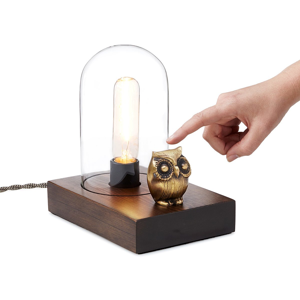Mr. Owl Touch Lamp | vintage lamp | UncommonGoods