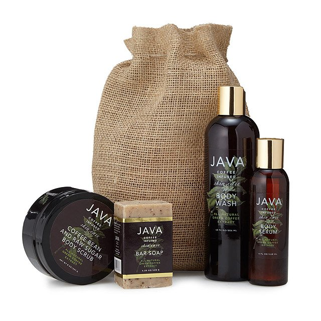 JAVA Coffee Infused Skincare Body Collection