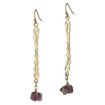 Trellis Drop Earrings