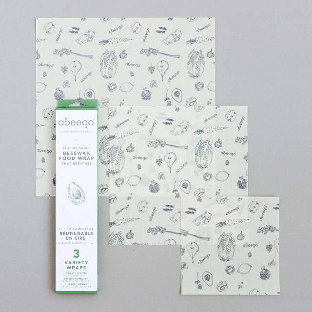 Beeswax Food Saving Wrap | reusable plastic wrap, green food storage
