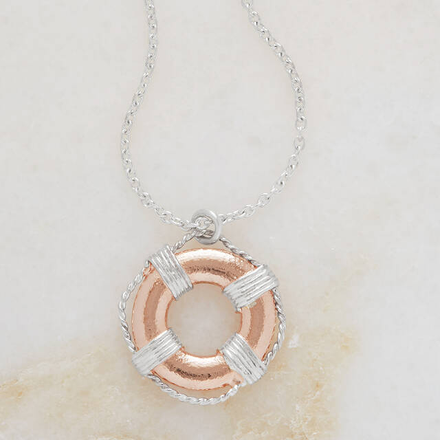 Life Buoy Necklace