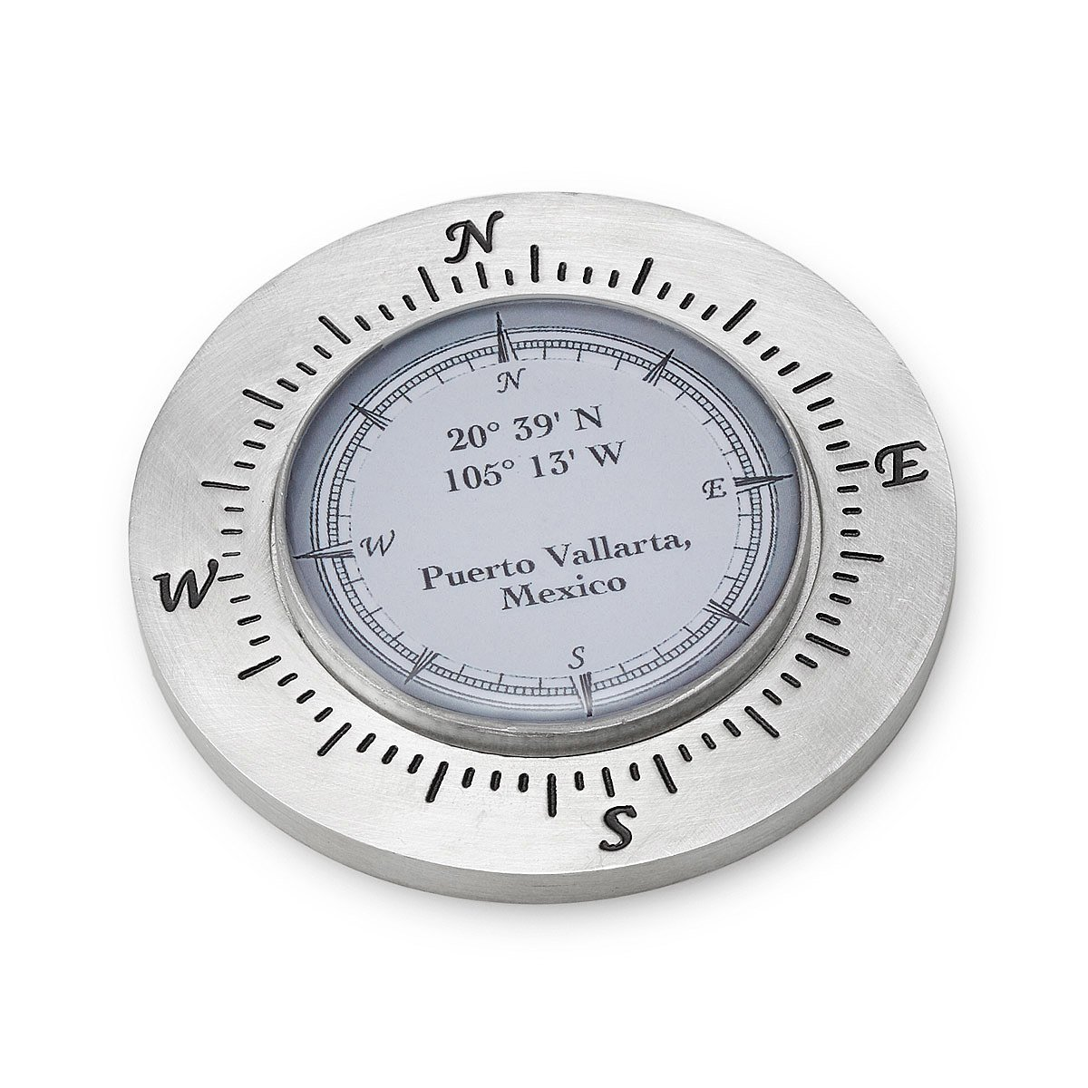 Custom Latitude Longitude Paperweight | personalized gift, map ...