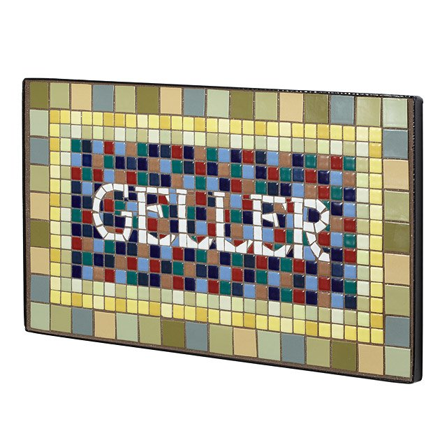Personalized Handmade Mosaic House Sign