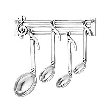 Music Note Measuring Spoon Set