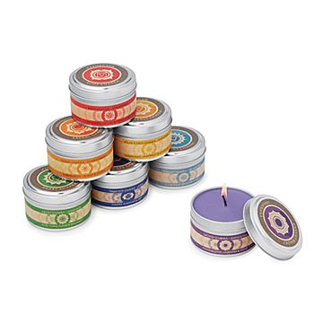 Chakra Candles - Set of 7