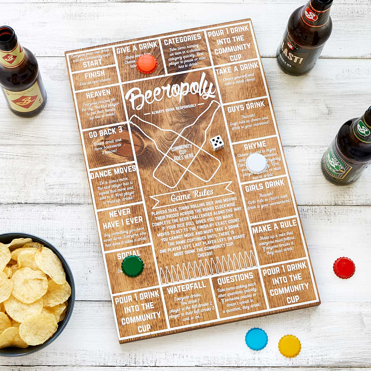 Best board games uncommongoods beeropoly gamestrikefo Image collections