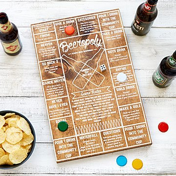 Beer Gifts for Him - Beeropoly