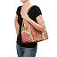 Fern Frond Hand Embroidered Shoulder Bag 3 thumbnail