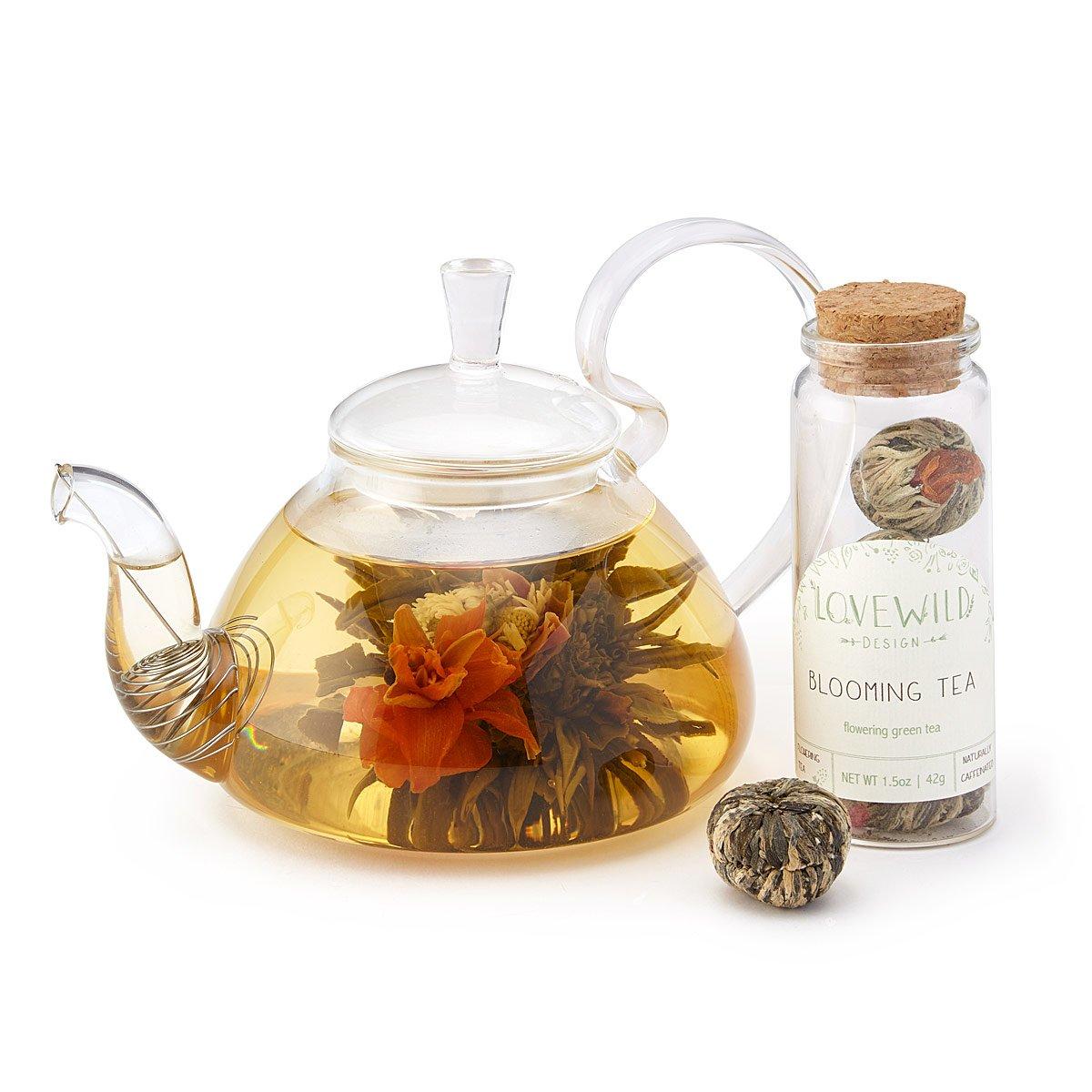 Blooming Tea   tea flowers   UncommonGoods