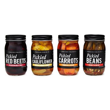 Pickled Vegetables - Set of 4