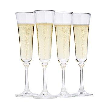 unique champagne flutes. Constant Sparkling Champagne Flutes - Set Of 4 Unique