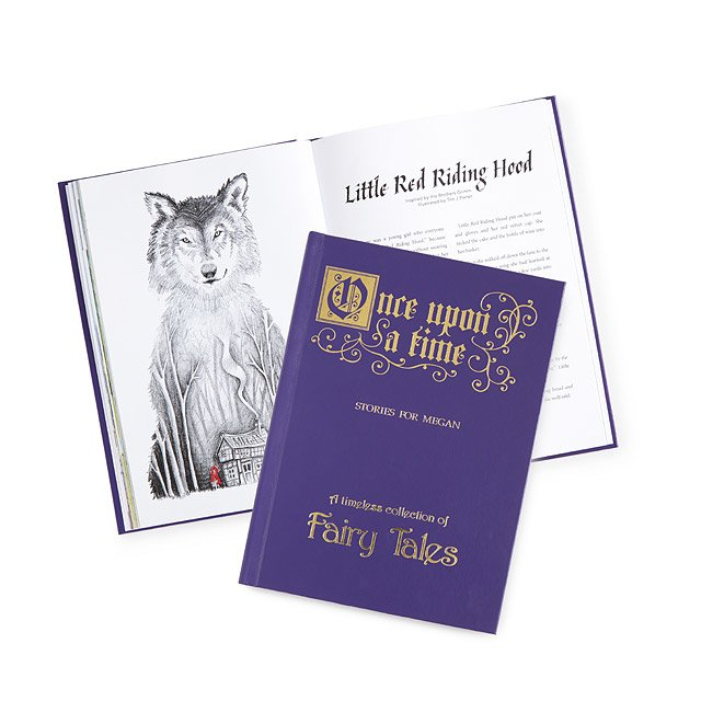 Personalized Classic Fairy Tales Book