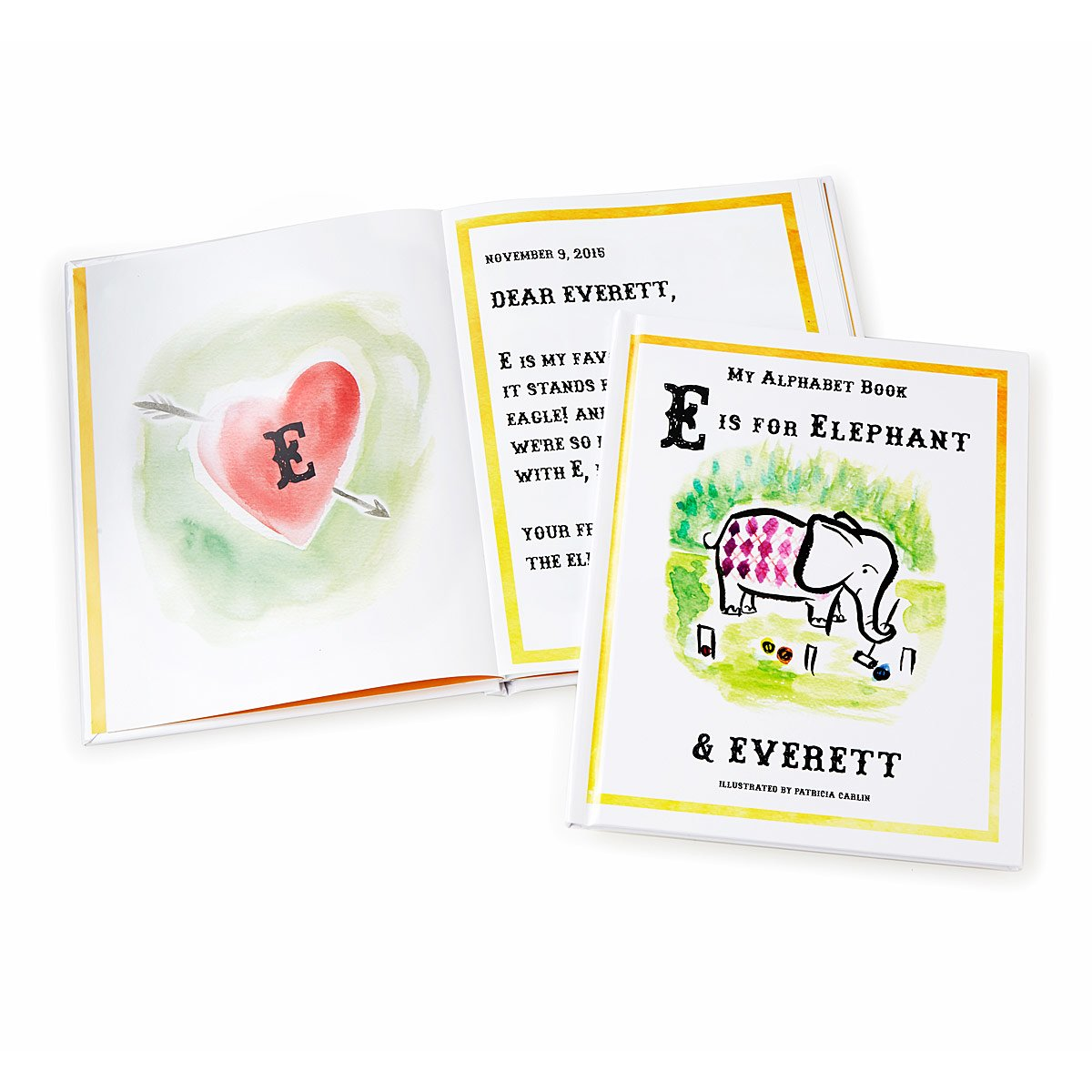 Watercolor books for kids - Personalized My Alphabet Book 1 Thumbnail