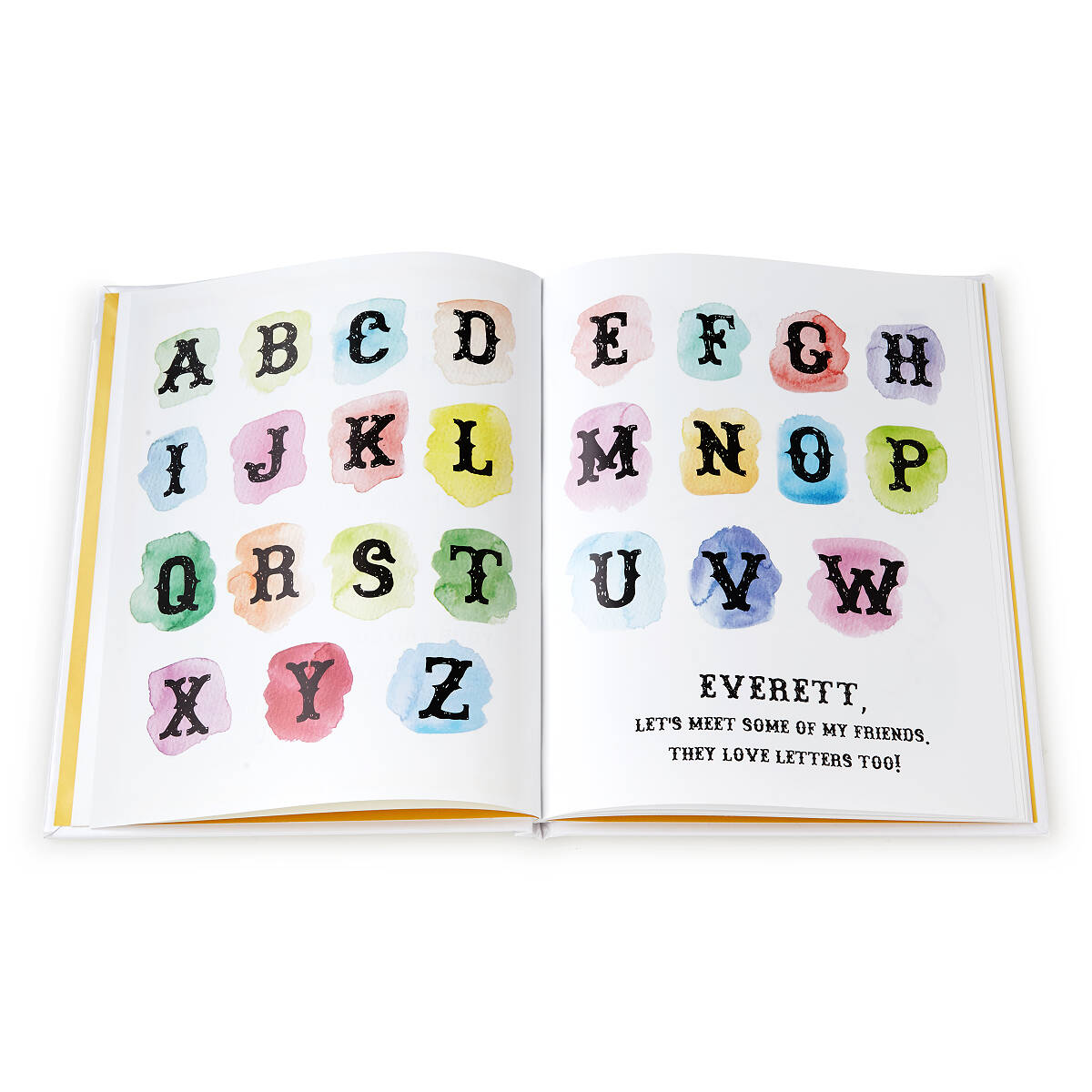 Personalized my alphabet book custom kids book alphabet book personalized my alphabet book 3 thumbnail negle Images
