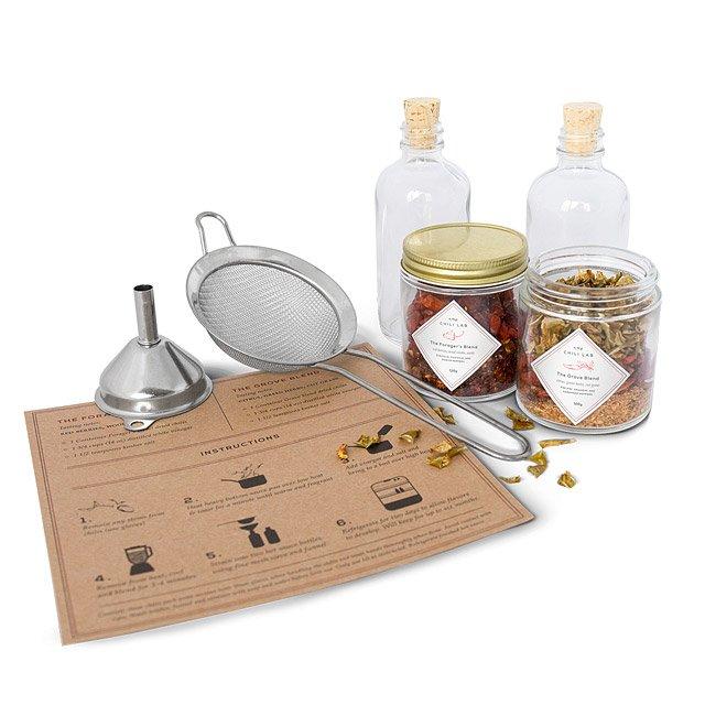 Diy Hot Sauce Kit Uncommon Goods